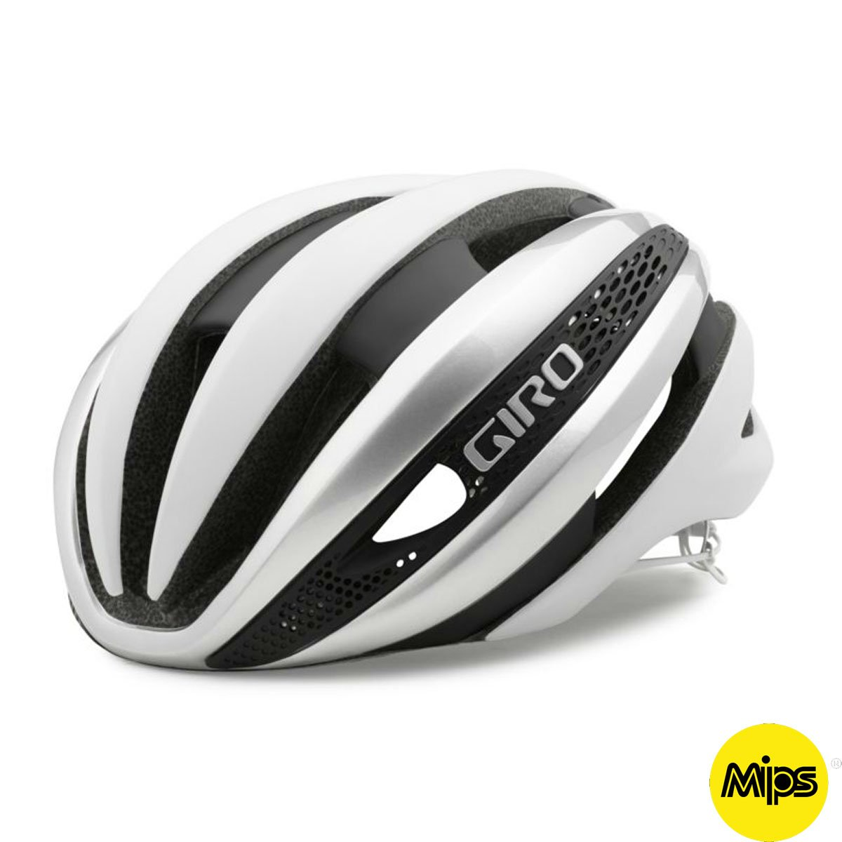 Giro Synthe MIPS Helmet Matte White Silver, S