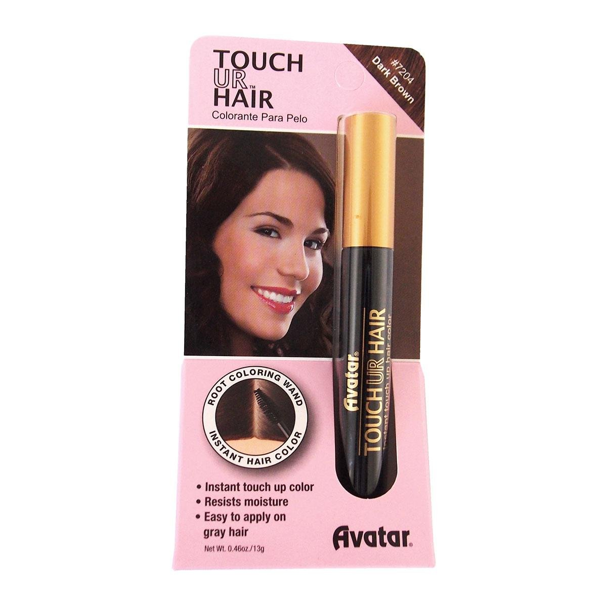 Grey Hair Colour Dye Mascara Root Touch Up Color Black Amazon