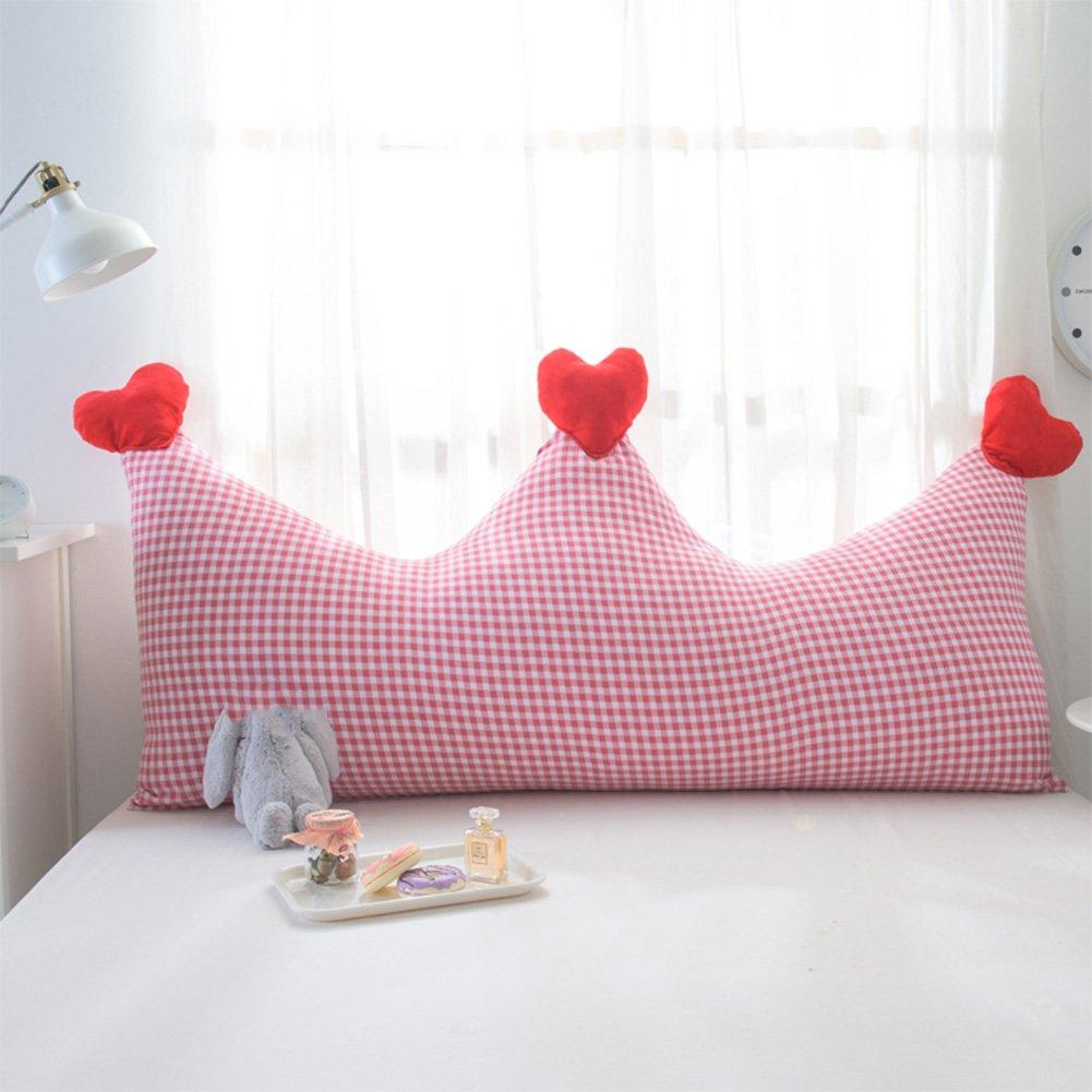 QiangDa Capezzale Cuscini Letto Softbag Simpatico Cuscino Morbido Imbottitura di Cotone Staccabile E Lavabile, 5 Stili, 3 Dimensioni Opzionale (colore   1 , Dimensioni   180 x 80cm)