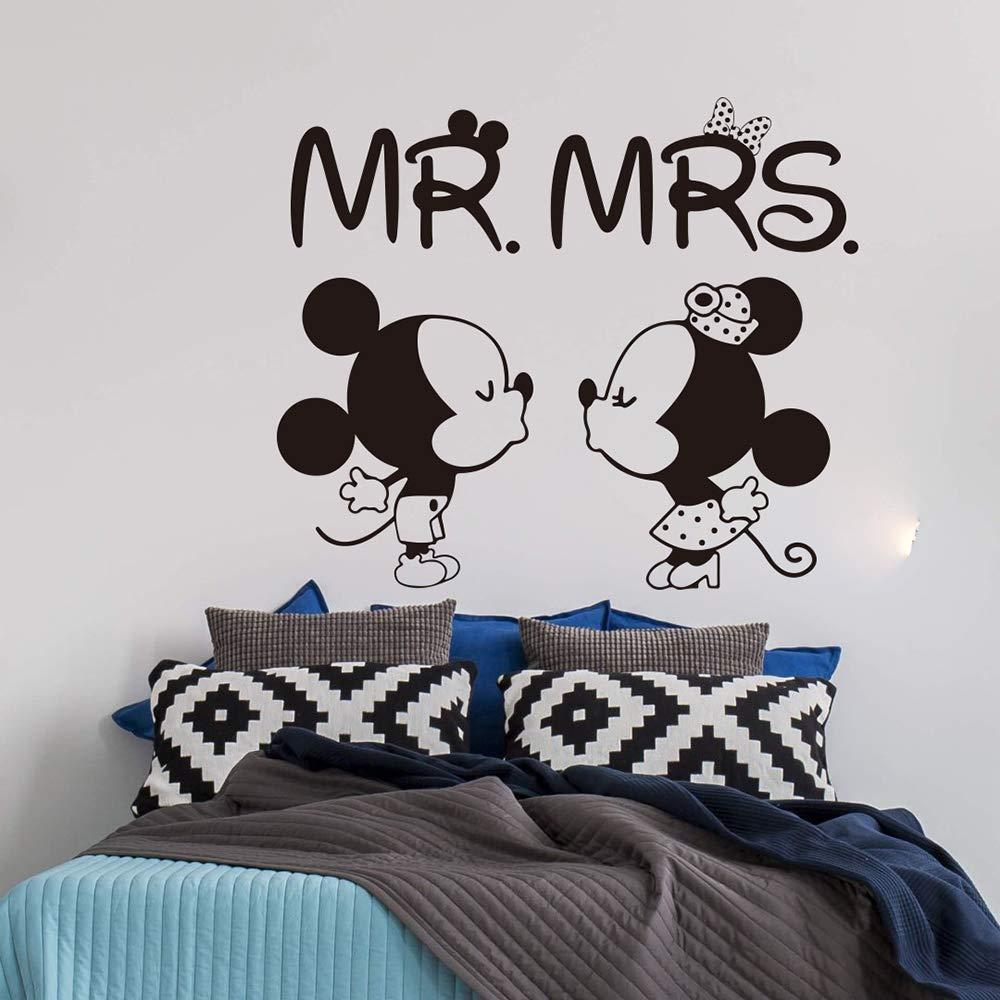 pegatina de pared 3d Mickey Mouse Etiqueta de La Pared Tatuajes de ...