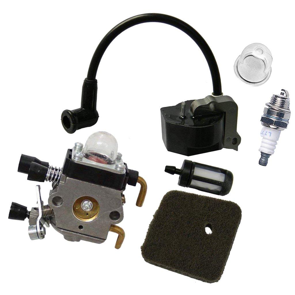 MagiDeal Filtre /à Carburant dair de Bobine Dallumage Carburateur pour STIHL FS38 FS55 FC55 FS45 FS46