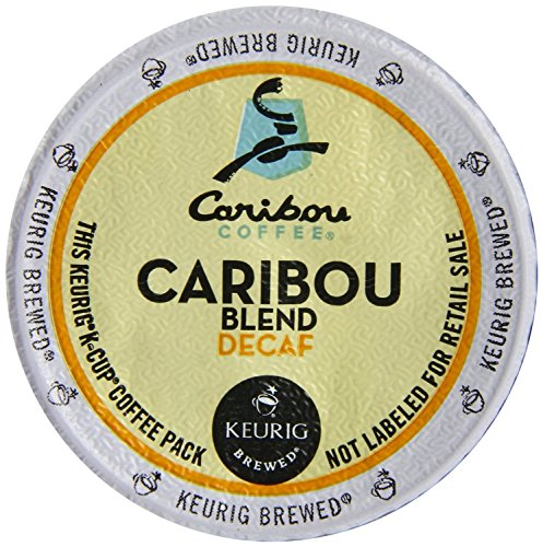 Caribou Coffee Caribou Decaf Blend, K-Cups for Keurig Brewers, 30-Figure out