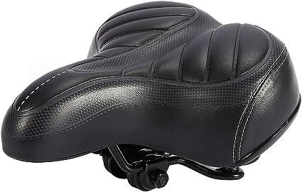 Comfort Bike Saddle Soft PU Leather Bicycle Seat MTB Cycling Big Bum Cushion Pad