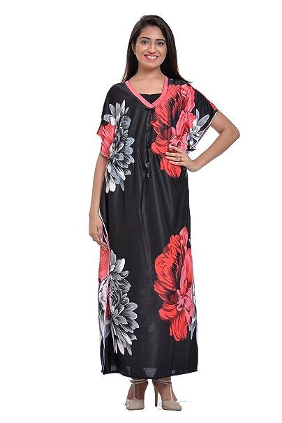 8b6fc177f7e Odishabazaar Cotton Batik Bohemian Long Caftan Kaftan Dress (obbk-21 ...