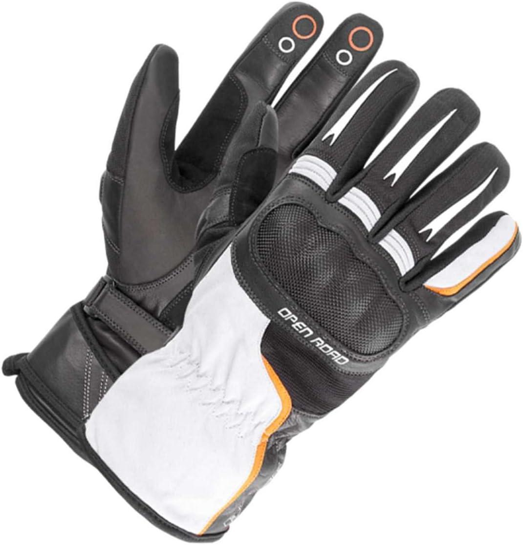 Schwarz//Wei/ß B/üse Open Road Touring Handschuhe 11 XXL