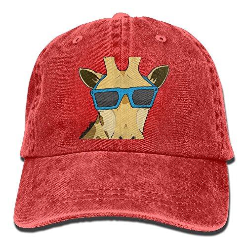 Safan532 Unisex Giraffe With Sunglasses Art Summer Fashion Cotton Baseball Cap Adjustable Trucker Hats For Outdoor - Sunglasses Alibaba