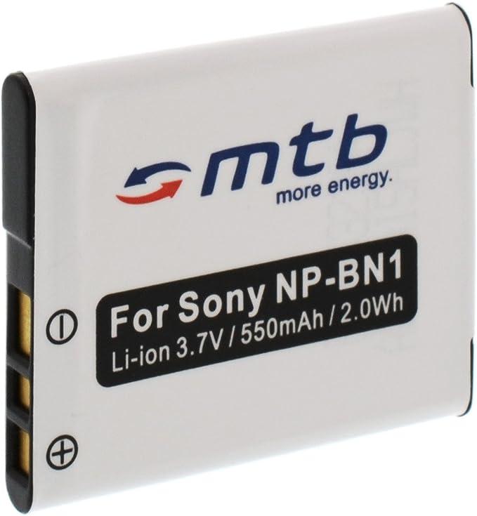 Ersatz Akku Np Bn1 Für Sony Cyber Shot Dsc W710 W730 Kamera