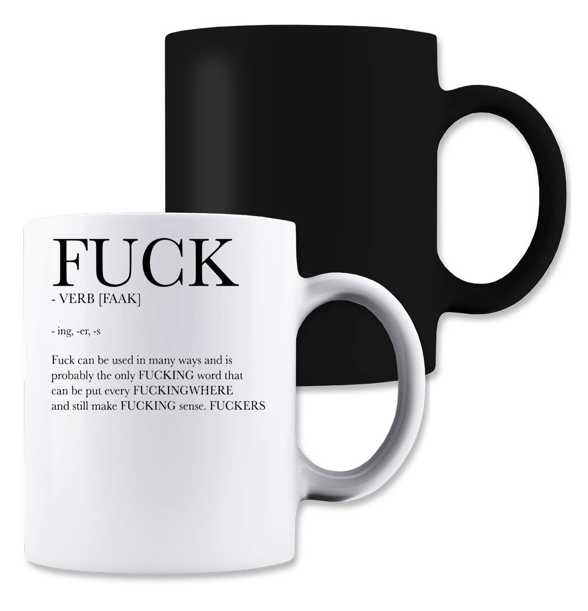 ShutUp Fuck Can Be Used In Many Ways Magische Tee-Kaffeetasse