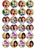 Coyote Lot de 24 décorations de cupcakes Lego Friends