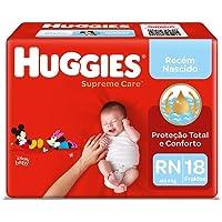 Fralda Huggies Supreme Care Rn - 18 Fraldas