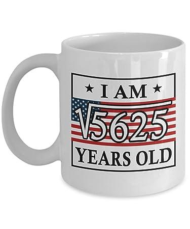 75th Birthday Mugs For Women 11 OZ