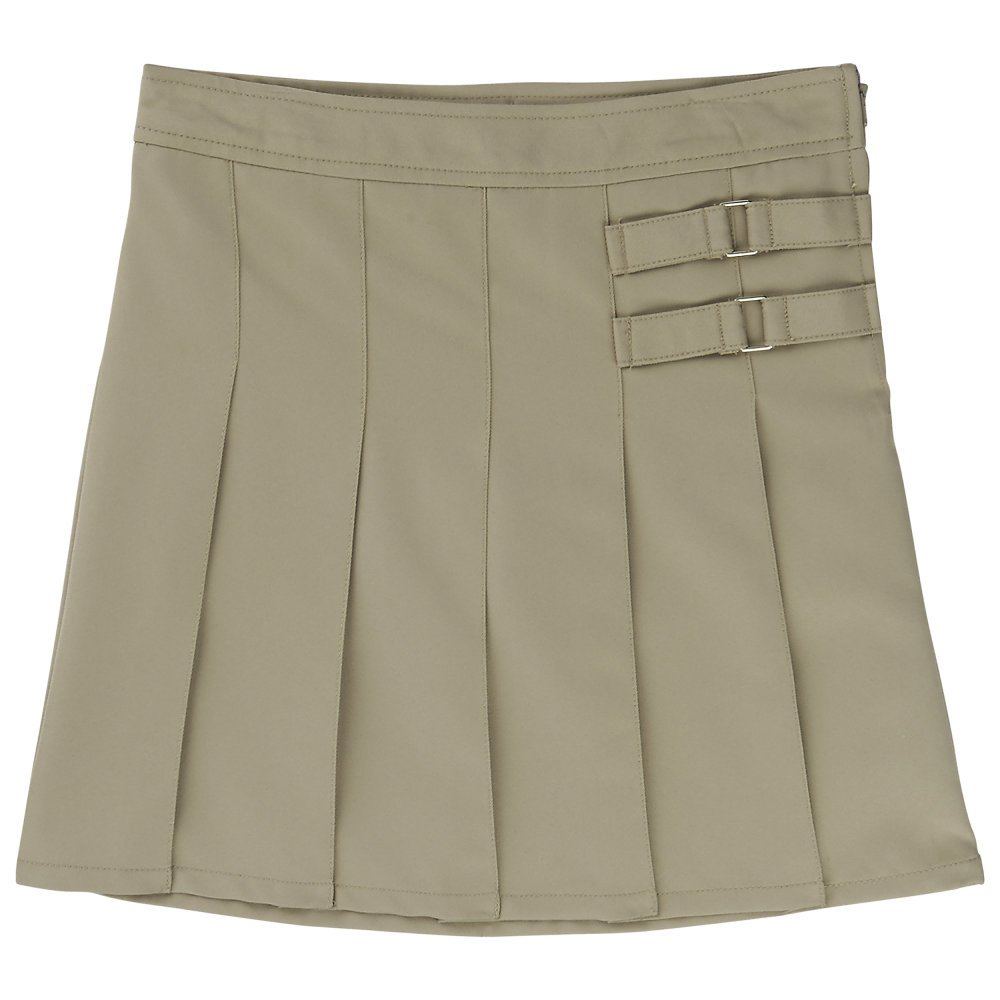 French Toast Uniforms Girls' Scooter Skort (Khaki 20) by French Toast (Image #1)