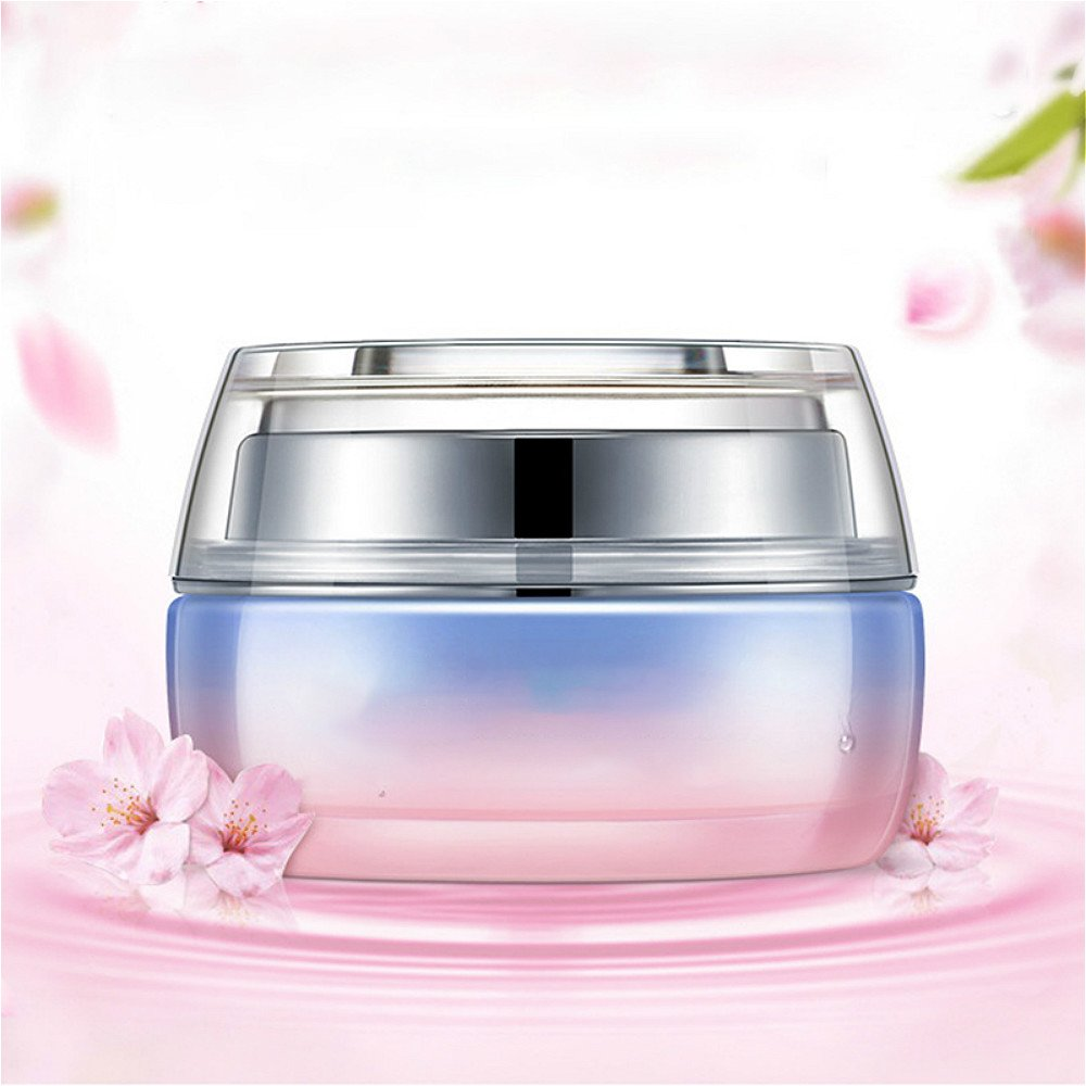 Vinmax Whitening Cream Face&Wrinkle Cream,Anti Aging Night Cream,Cherry Blossoms Brighten Face Anti Aging Nourish Skin Whitening for Anti Face Vitamine and Green Tea for Female 1.8 Oz