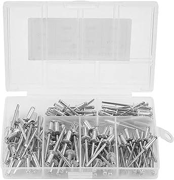 Wal front 120 Remaches de Aluminio para persianas M3.2 M4 con Caja: Amazon.es: Bricolaje y herramientas