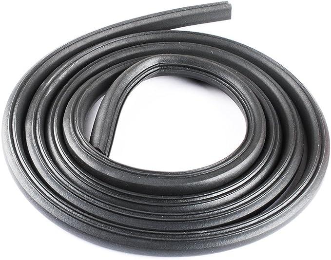 Compatible with WPW10509257 Door Gasket W10509257 Dishwasher Door Gasket Replacement for Roper RUD3000DB1