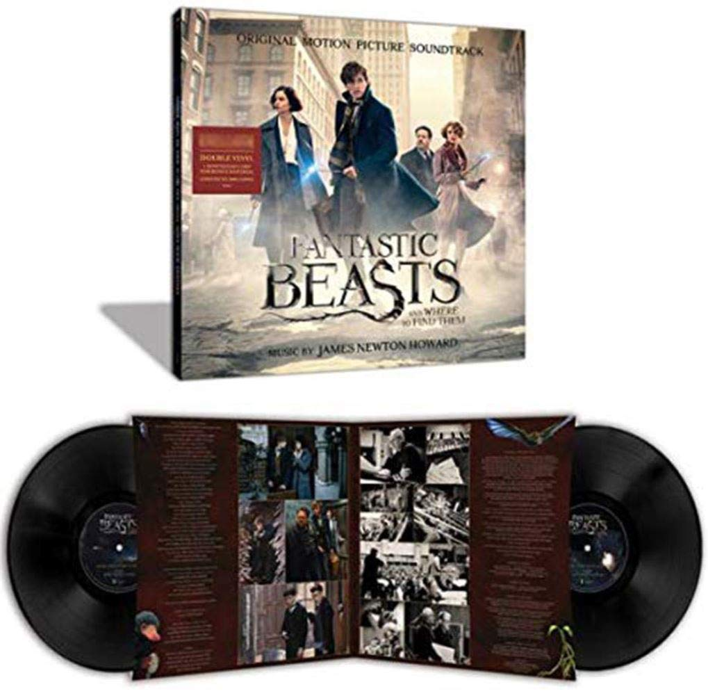 James Newton Howard - Fantastic Beasts and Where to Find Them Original Motion Picture Soundtrack Exclusive 2X Black Vinyl LP