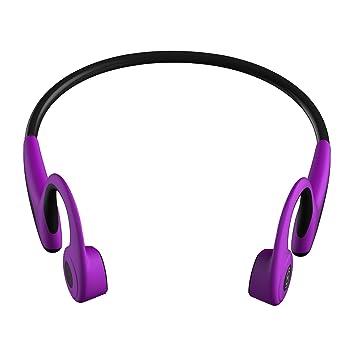 Mingteng Auriculares de conducción ósea de, a Prueba de Sudor, Deporte, Seguro, Auriculares inalámbricos Bluetooth con micrófono, para los Conductores ...