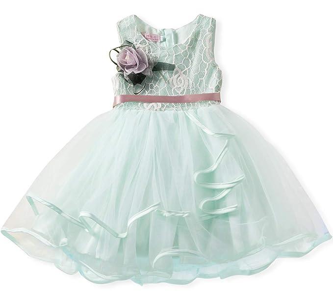 NNJXD Lace Pageant Princess Girls Flower Wedding Party Dresses Size (90) 1-2 616b34bd0e75