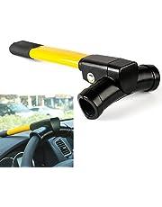 Anti-robo Cerradura retráctil del volante del coche con llaves Herramienta de seguridad de protección