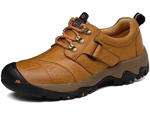 GJRRX Hombres Botas de Senderismo Zapatos de Trekking resbaladizo Caminar Transpirable Zapatilla de Escalada Zapatos de Deporte Zapatillas de Senderismo ...