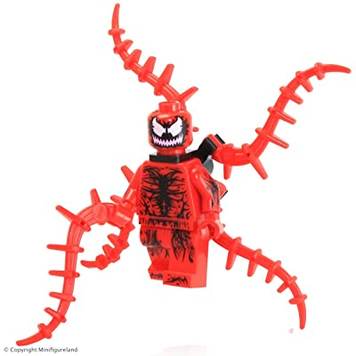 Lego Exclusive Carnage Minifigure 76036 Loose New 2015: Toys & Games