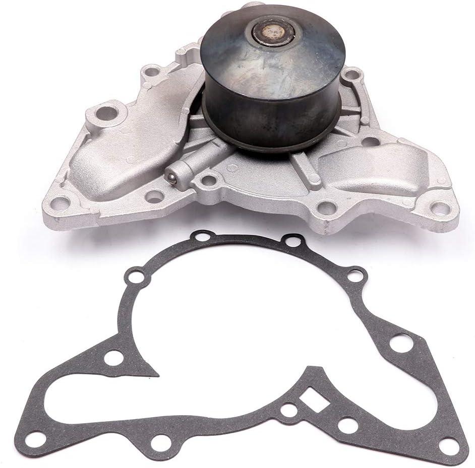 ANPART Timing Belt Kit Fit For 2003-2006 Hyundai Santa Fe 2002-2005 Hyundai XG350 2004-2006 Kia Amanti 2002-2005 Kia Sedona Timing Belt Water Pump Tensioner Gasket Set