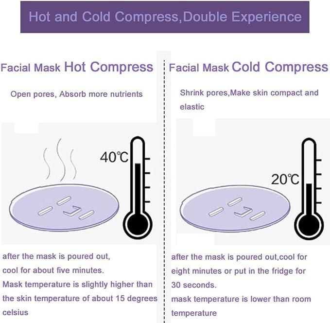 DIY Máscara Facial Máquina Automática Mascarilla Orgánica Natural ...