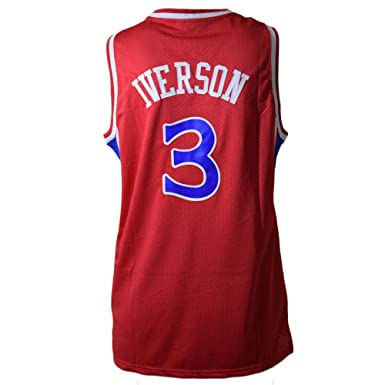 Mitchell & Ness Maillot Philadelphia 76ers Allen Iverson #3: Amazon.es: Ropa y accesorios
