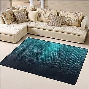 Large Carpet Mat Digital Traditional Area Rug Algorithms Code Futuristic for Children Bedroom Home Decor (6'x9')