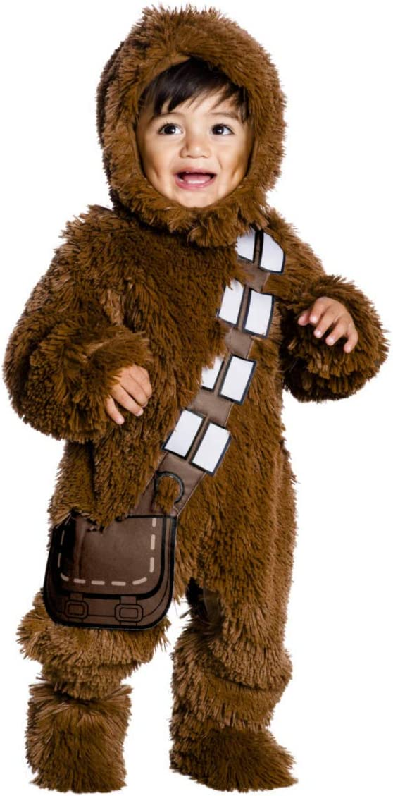 Horror-Shop Star Wars Deluxe Chewbacca Disfraces para Niños Baby ...