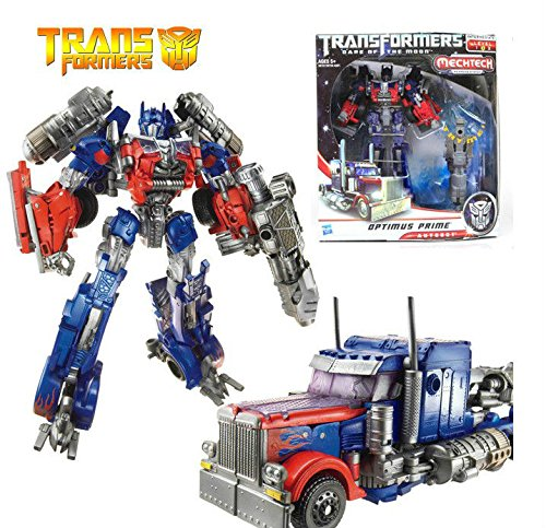 [Transformers 3 Movie Voyager Optimus Prime Action Figure Toy Doll New in Box] (Arcee Prime Costume)