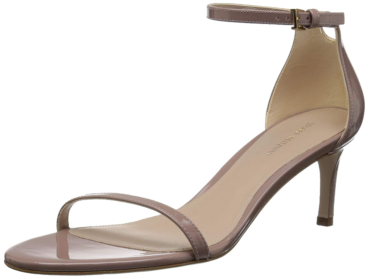 Stuart Weitzman Womens 45NUDIST Heeled Sandal
