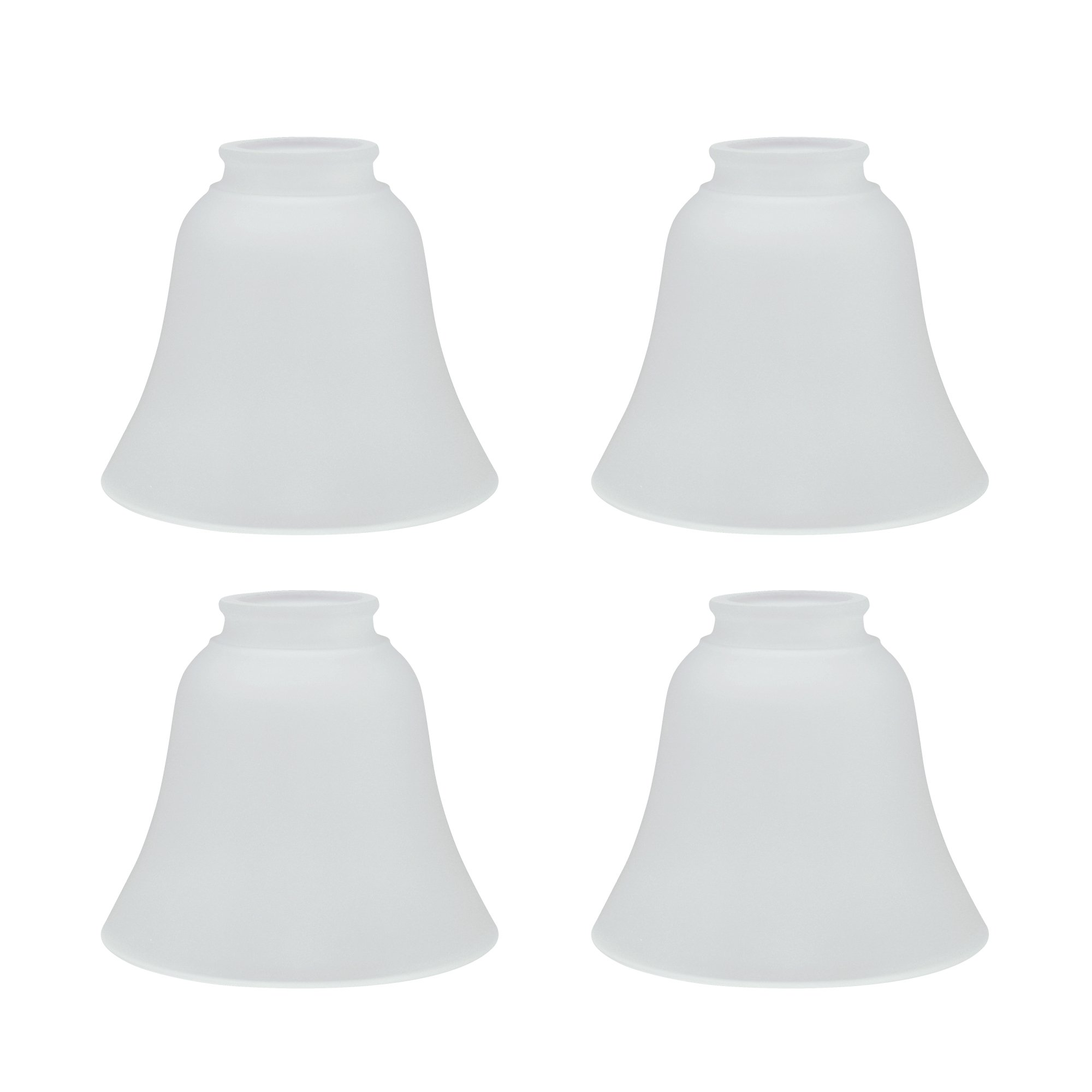 Aspen Creative 23026-4 Transitional Style Replacement Glass Shade, Frosted by Aspen Creative (Image #1)