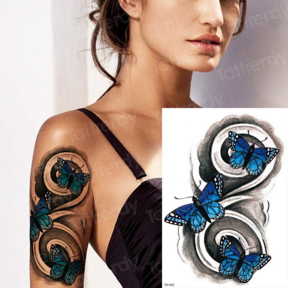 3pcsWater Transfer Tattoo Robot Brazo Manga Tatuaje Femenino ...