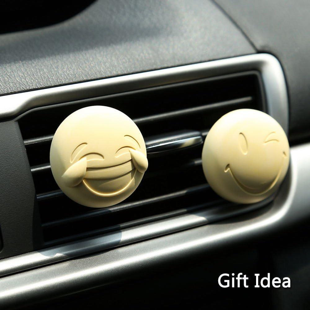 Amazon.es: 2 x popular Emoji ambientador para coche – rejilla de ...