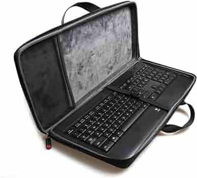 Hermitshell Hard Travel Case Fits Logitech Wireless Solar Desktop Keyboard K750