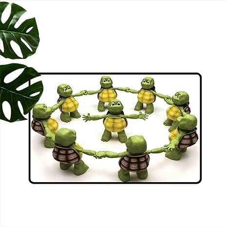 Amazon.com : Anzhutwelve Reptile,Mats Ninja Turtles Dancing ...