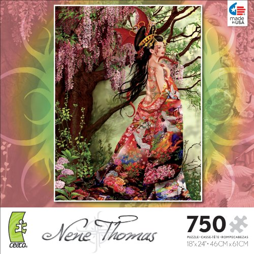 Ceaco Nene Thomas Silk Jigsaw Puzzle 2993-9