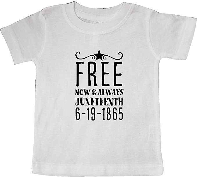 Juneteenth 6-19-1865 Toddler T-Shirt inktastic Free Now and Always