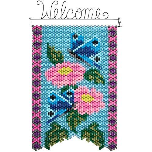 Herrschners® Oriental Butterflies Beaded Banner (Beaded Butterflies Kit)