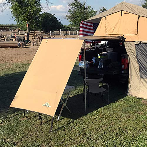 Tuff Stuff Overland TS SW-4.5 Awning Shade Wall 4.5 X 6 Foot ()