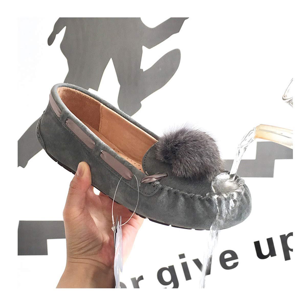 US 6 M 37 , Grey1 Aslipper Womens Cas Fashion Sneaker