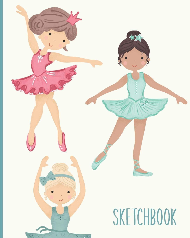Buy Sketchbook Blank Ballet Dancer Journal For Creativity Drawing Sketching And Doodling Ballerina Illustration Cover Design Book Online At Low Prices In India Sketchbook Blank Ballet Dancer Journal For Creativity