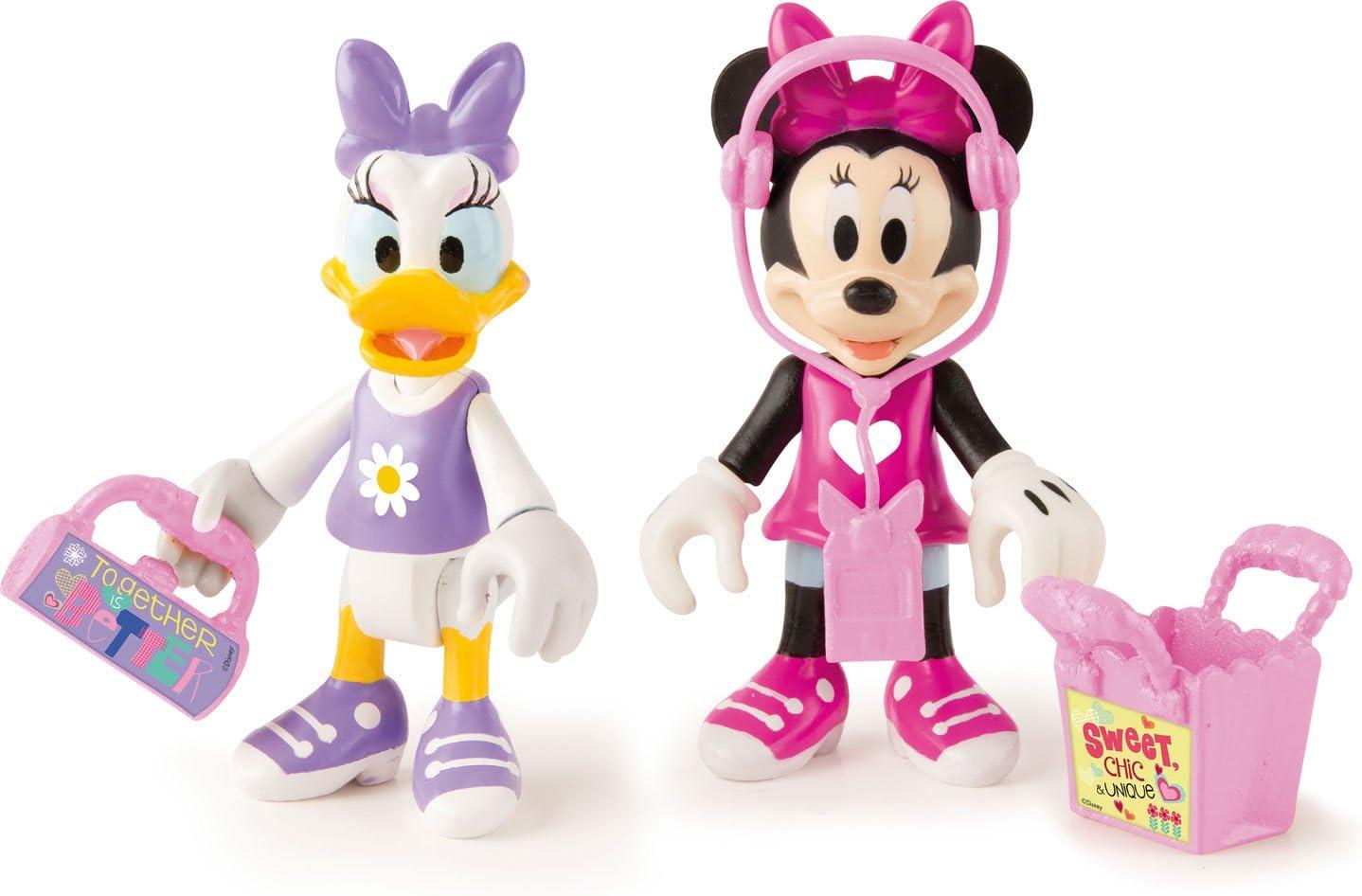 Minnie Mouse- Minnie + Daisy Let's GO Shopping, Multicolor (Propio 182547)