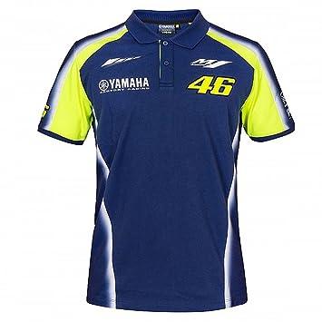 Valentino Rossi Vr46 Moto Gp M1 Yamaha Racing Team Polo Hemd