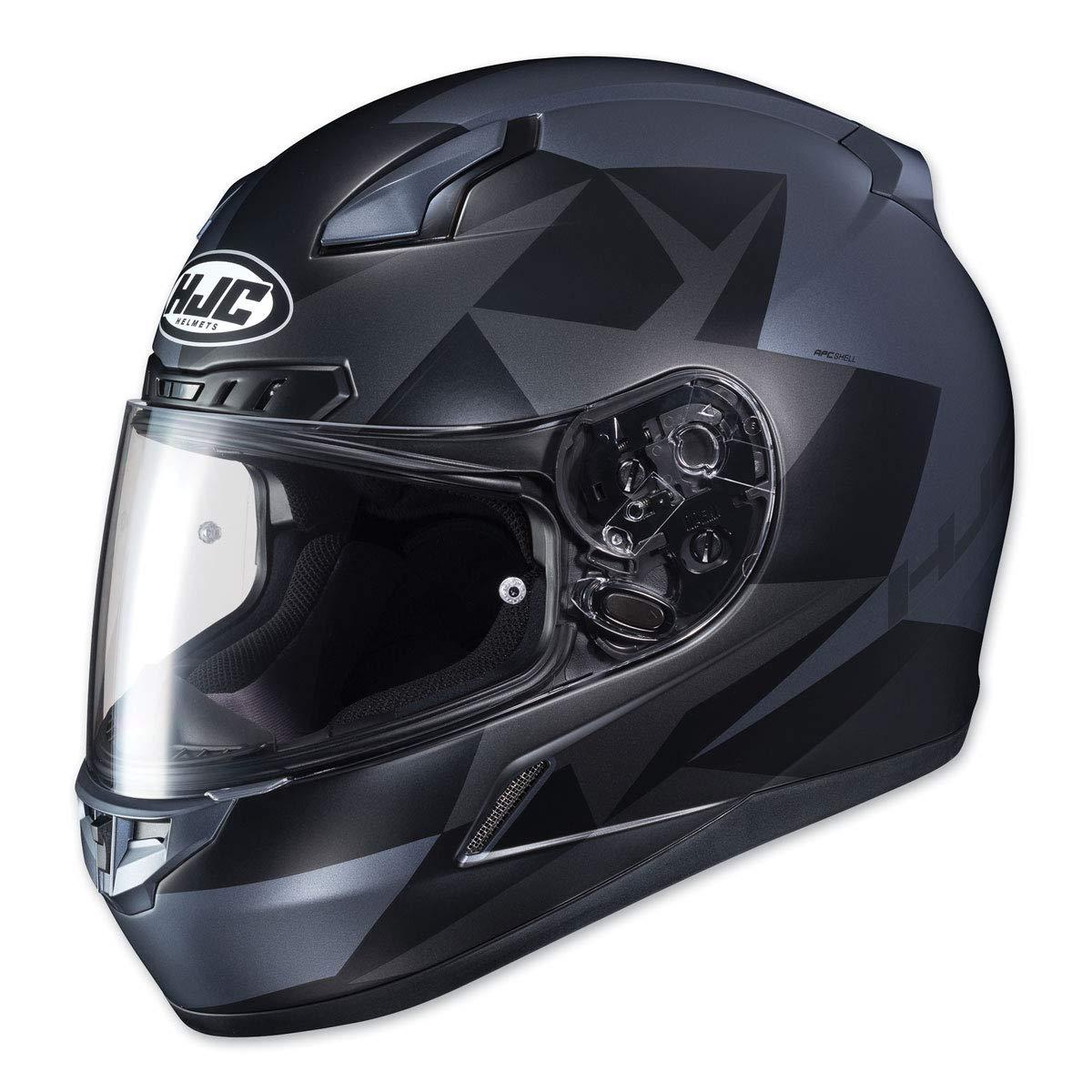 Ragua HJC CL-17 Helmet LARGE WHITE//RED 0851-2831-06