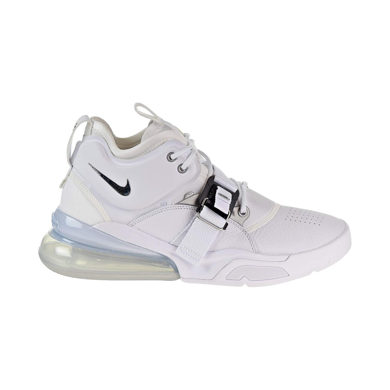 Blanc (blanc Metallic argent 001) Nike Nike Nike Air Force 270, paniers Basses Homme dda