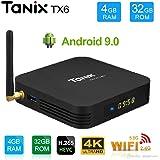 Tanix TX6 Allwinner H6 4GB/32GB Android 9.0 Mini PC 2.4GHz+5GHz 4K 1080P Bluetooth Smart TV Box TX3 Mini X96 Mini MXQ Pro