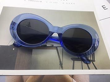 Burenqi@ Hip Hop Elíptica Retro Gafas De Sol Productos Estrella Tendencias Street Shoot Gafas De Sol,F: Amazon.es: Deportes y aire libre