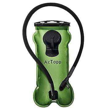 actopp 100% a prueba de fugas de hidratación, depósito de agua vejiga mochila para deportes al aire libre viajar bicicleta Ciclismo Camping Running ...